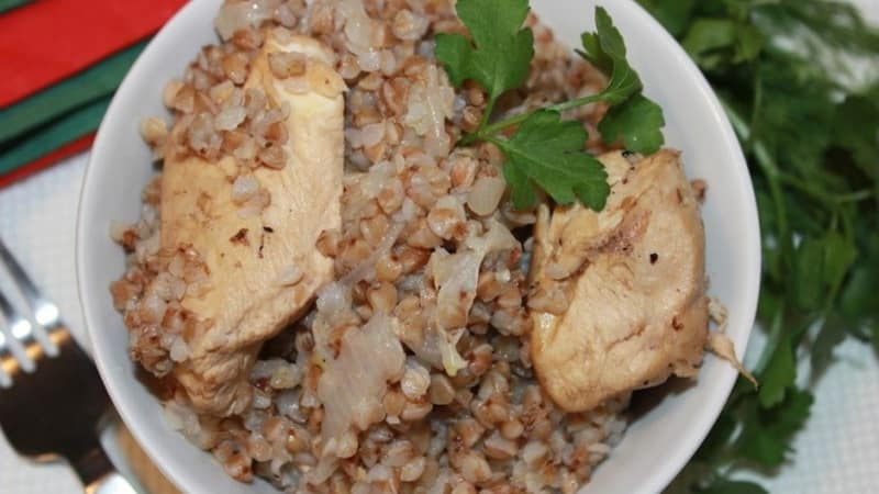Вкусная и эффективная диета на гречке и курице: худеем без вреда для здоровья
