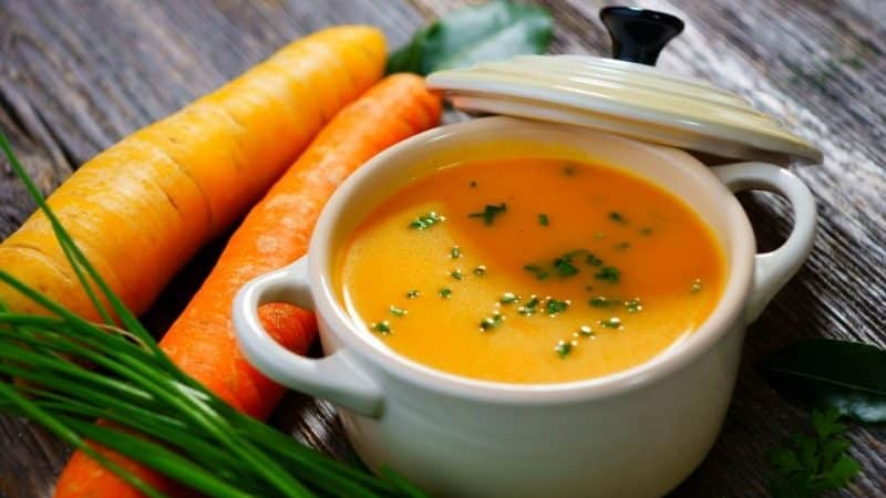 Как правильно есть морковь при различных формах гастрита