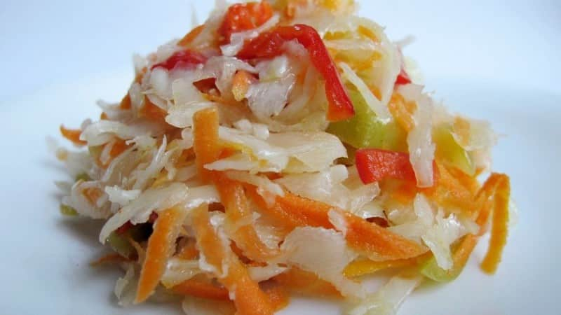 Как вкусно заготовить квашеную капусту с болгарским перцем на зиму