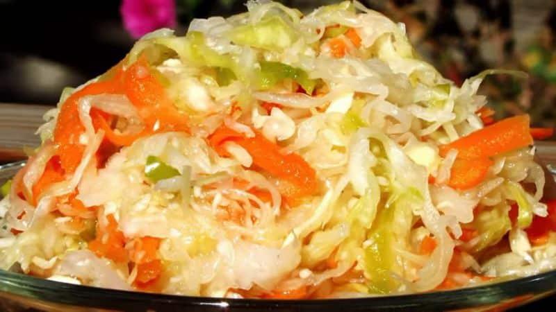 Как заготовить капусту с хреном: рецепты от опытных хозяек
