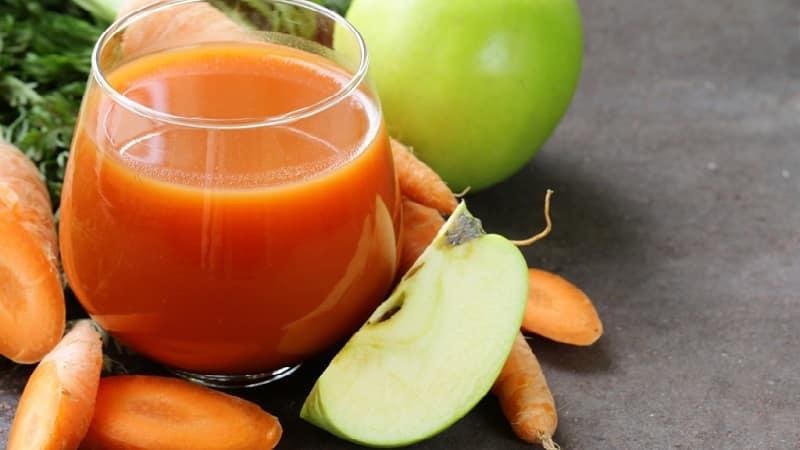 Как заготовить сок из яблок и моркови из соковыжималки на зиму