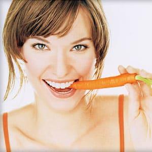 Калорийность моркови и можно ли ее есть на ночь