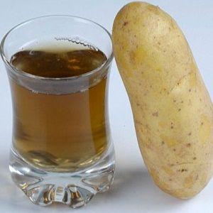 Лечение желудка картофельным соком