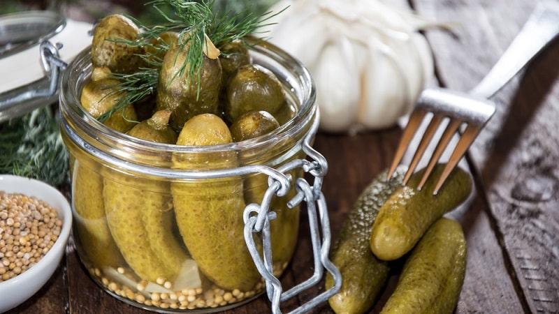 Лучшие рецепты приготовления огурцов с горчицей на зиму в банках холодным способом