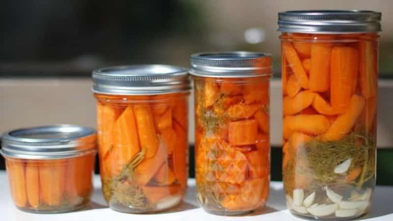 Простые и вкусные рецепты квашеной моркови