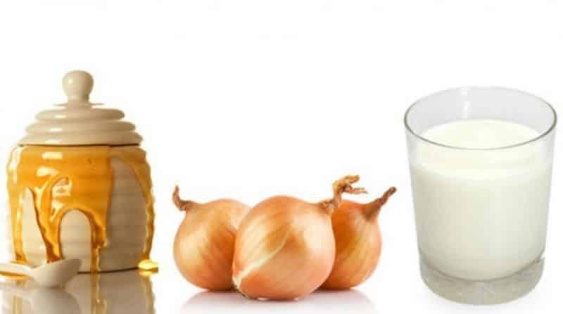 Лучшие рецепты с луком и молоком от детского кашля