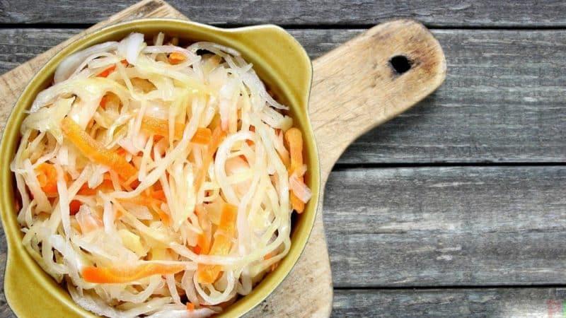 Технология приготовления и лучшие рецепты квашеной капусты с сахаром