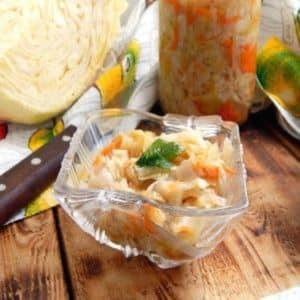 Как правильно готовить квашеную капусту без соли