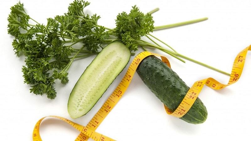 Как петрушка помогает в похудении