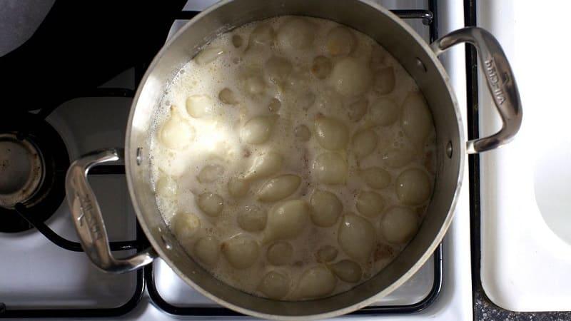 Сколько минут варится лук репчатый