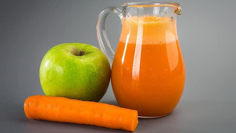 Как приготовить вкусный и полезный морковно-яблочный сок