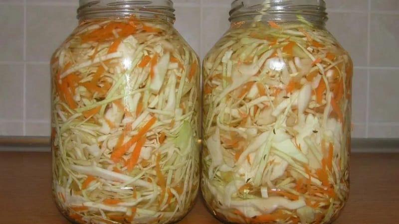 Как заготовить капусту с аспирином на зиму в 3х литровой банке вкусно и просто
