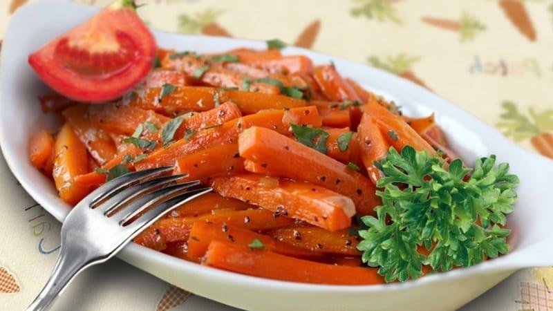 Калорийность, витамины и пищевая ценность моркови свежей и приготовленной