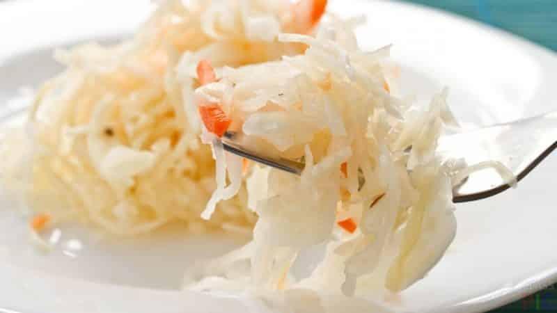 Как правильно приготовить квашеную капусту с ржаной мукой
