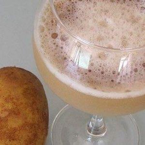 Какая польза от употребления картофельного сока натощак и отзывы врачей о возможном вреде