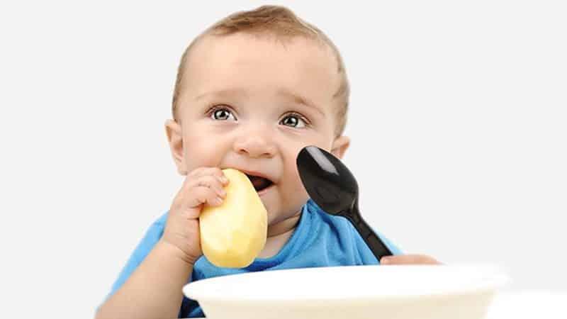 Разбираемся с вопросами, почему ребенок ест сырую картошку и не вредно ли это