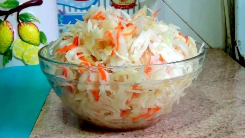 Простые, но очень вкусные рецепты квашеной капусты без уксуса