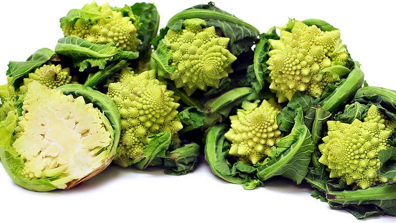 Различия между брокколи и цветной капустой