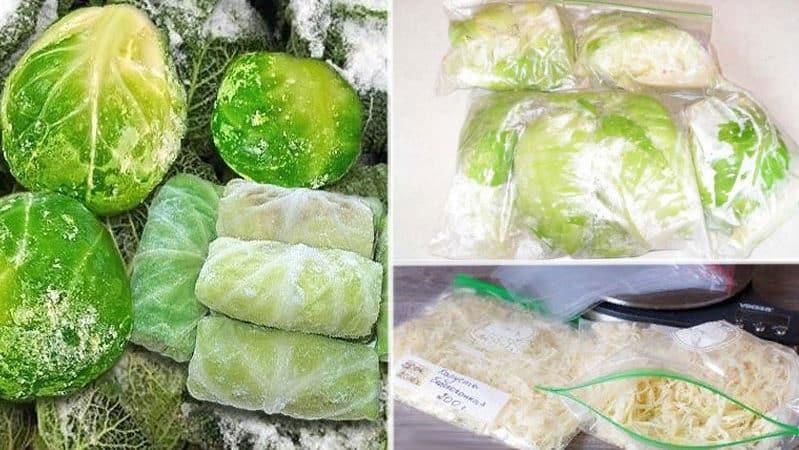Как правильно хранить капусту в морозилке, холодильнике и без охлаждающих устройств