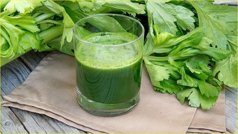 Как принимать сок сельдерея с пользой для организма