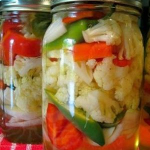 Рецепты очень вкусной хрустящей маринованной цветной капусты на зиму