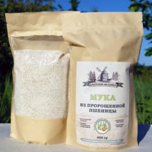 Чем полезна мука из пророщенной пшеницы, как её правильно делать и куда применять