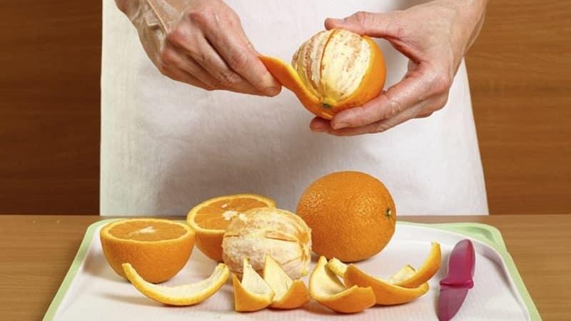 Чем полезна цедра апельсина для организма человека