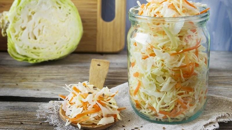 Как правильно мариновать капусту без растительного масла