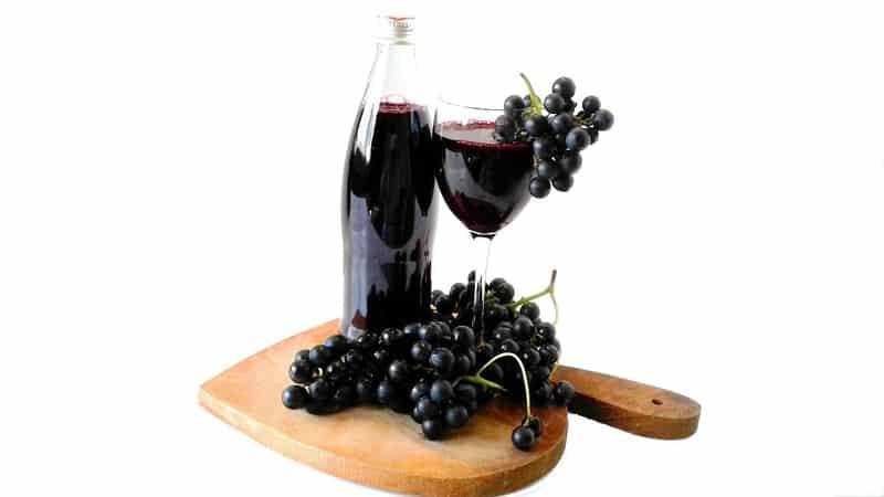 Польза и вред виноградного сока, приготовление и применение