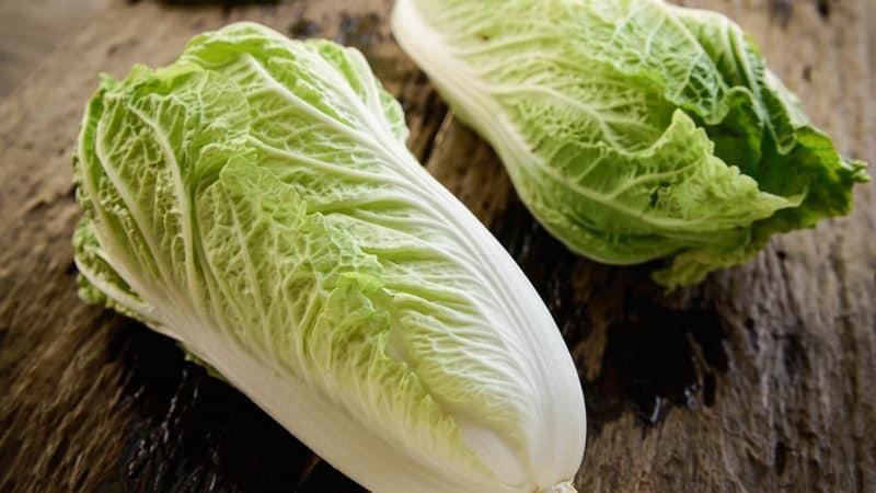 Сколько калорий содержится в китайской капусте и чем она полезна