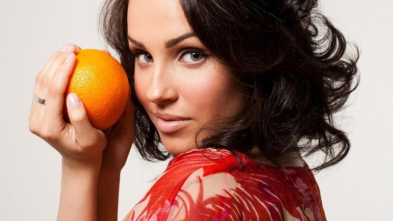 Женщина и апельсины - польза и вред