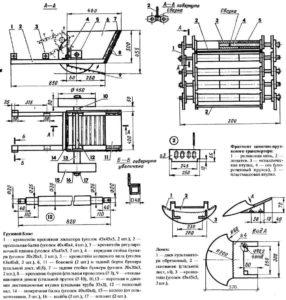 Транспортерная картофелекопалка для мотоблока: обзор лучших моделей и инструкция как сделать самому