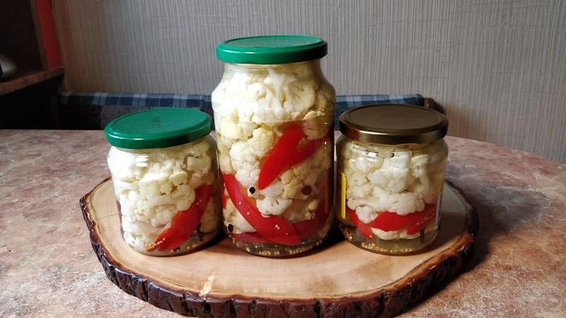 Любимые хозяйками рецепты засолки цветной капусты по-армянски