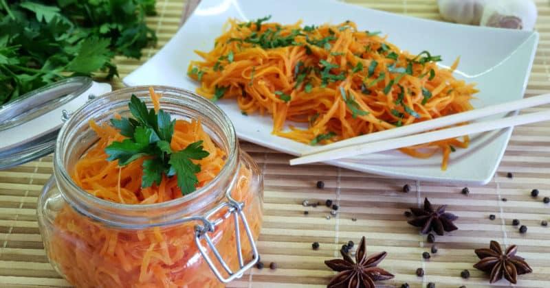 Как долго можно хранить морковь по корейски