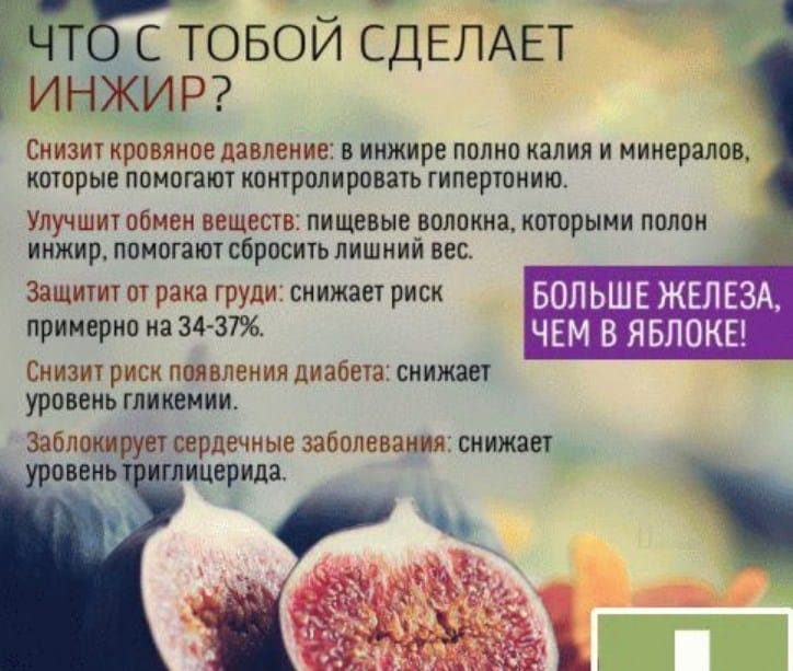 Полезные свойства инжира для женщин и правила его употребления