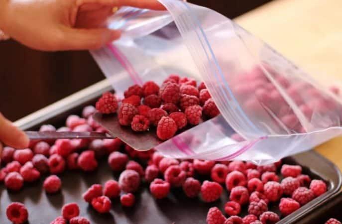 Выясняем, нужно ли мыть малину перед заморозкой и заготавливаем ягоды правильно
