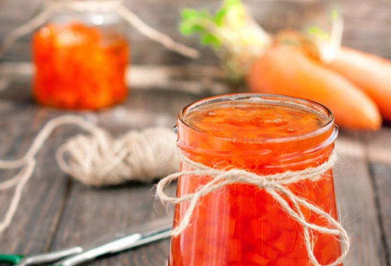 Как сварить полезное и вкусное варенье из моркови с апельсином