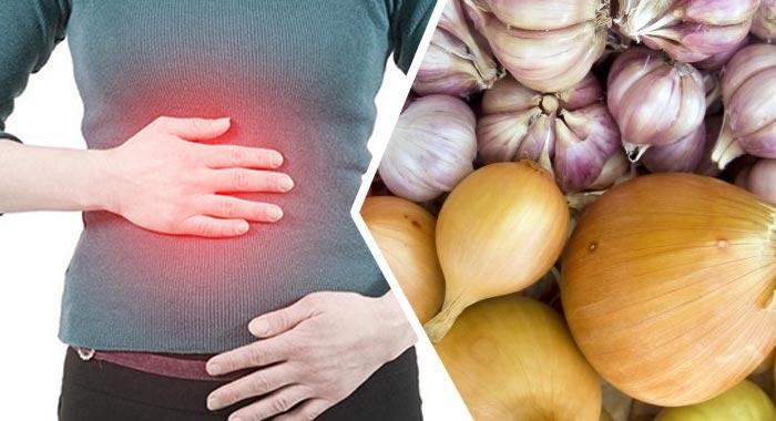 Влияние лука на стенки желудка: почему после употребления возникают боли
