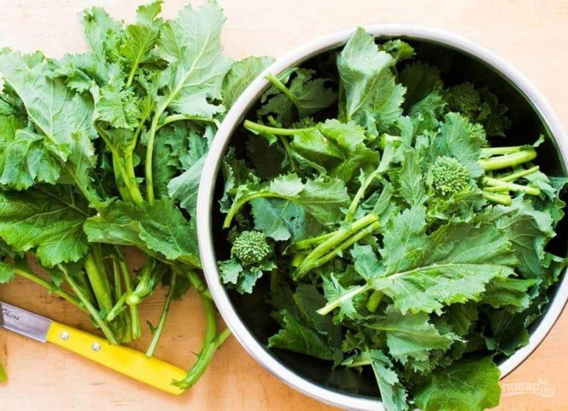 можно ли есть листья капусты брокколи