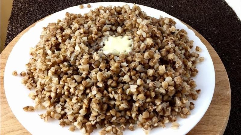 сколько калорий в тарелке гречки